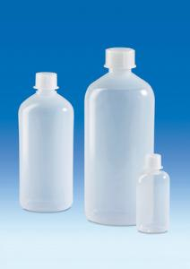 Bottles, narrow neck, LDPE, with screw cap