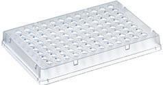 PCR-platen, 96 wells, met rand, laag profiel, Thermo-Fast®