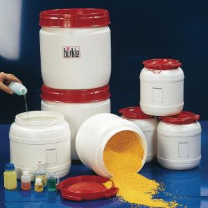 Kegs, wide neck, UN approved, with screw lid