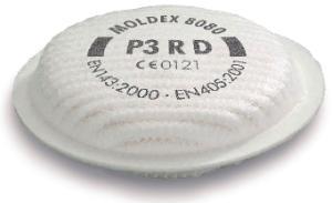 Radiale connectorfilters voor serie 8000-maskers